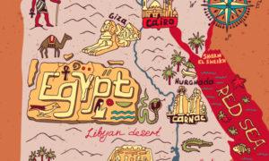 エジプトの観光スポットTOP30