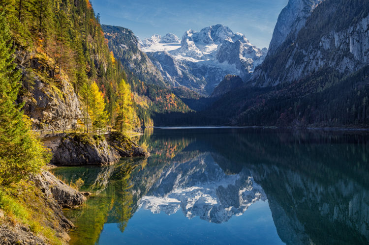 Достопримечательности Австрии - Горный массив Дахштайн