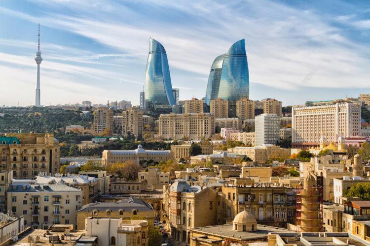 Достопримечательности Азербайджана - Пламенные башни