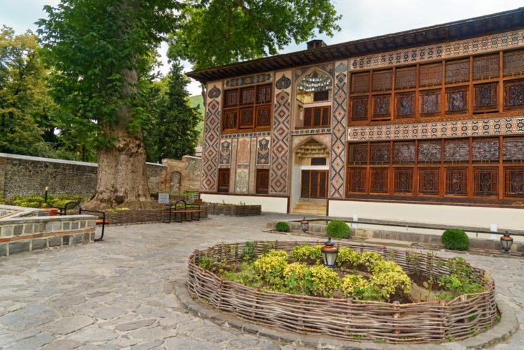 Достопримечательности Азербайджана - Дворец шекинских Ханов