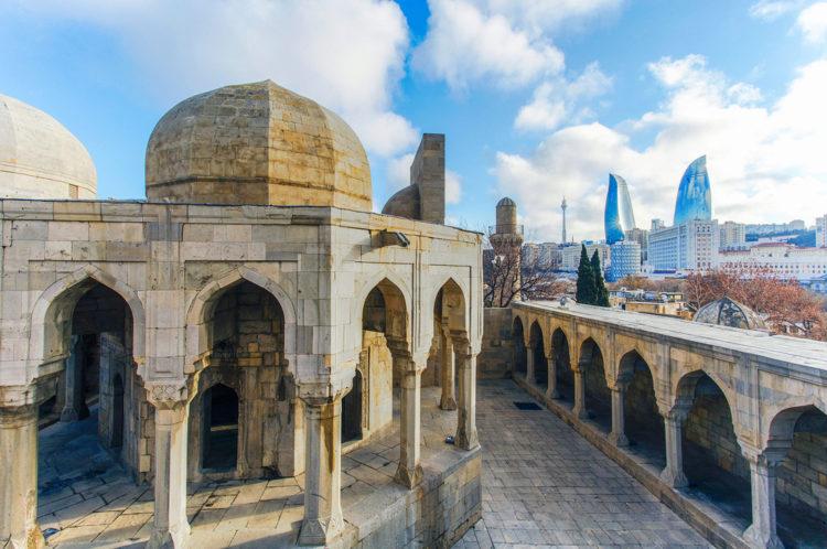 Достопримечательности Азербайджана - Дворец Ширваншахов