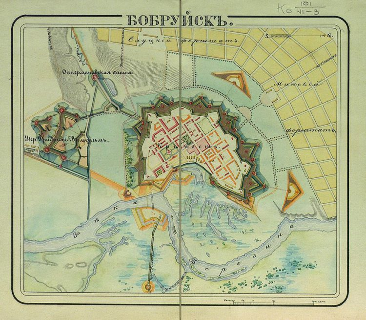 Достопримечательности Белоруссии - Бобруйская крепость