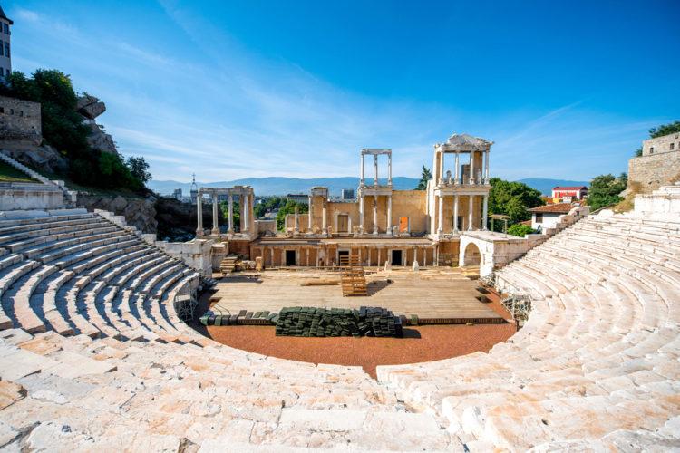 Достопримечательности Болгарии - Римский Амфитеатр
