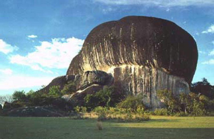 Достопримечательности Бразилии - Педра-Пинтада
