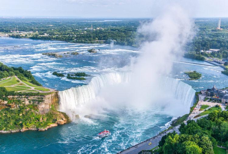 Достопримечательности Канады - Ниагарский водопад