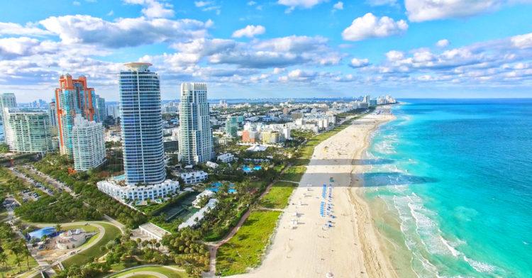 Достопримечательности США - Майами-Бич