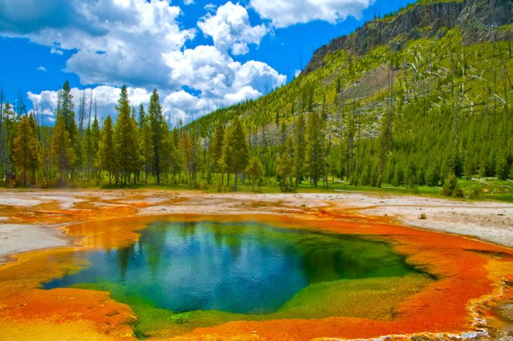 Что посмотреть в США - Йеллоустонский национальный парк