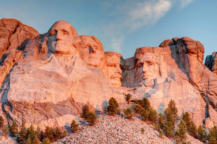 Что посмотреть в США - Гора Рашмор