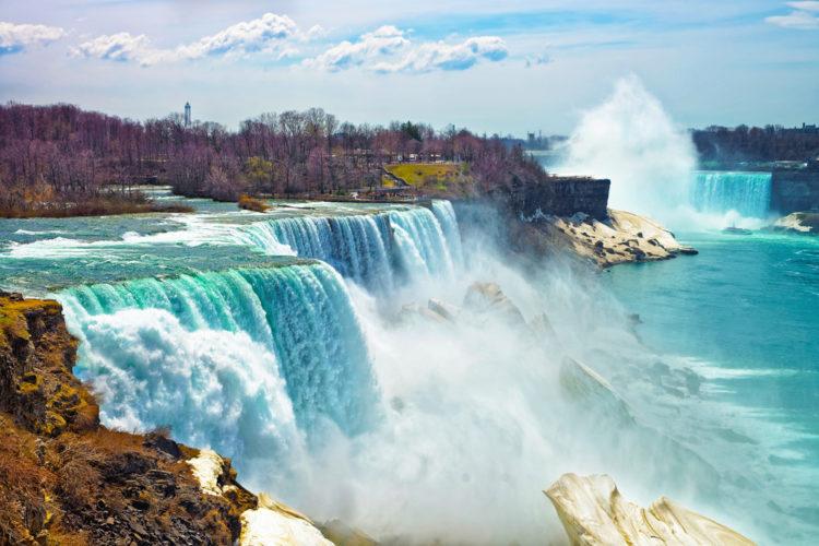 Достопримечательности США - Ниагарский водопад