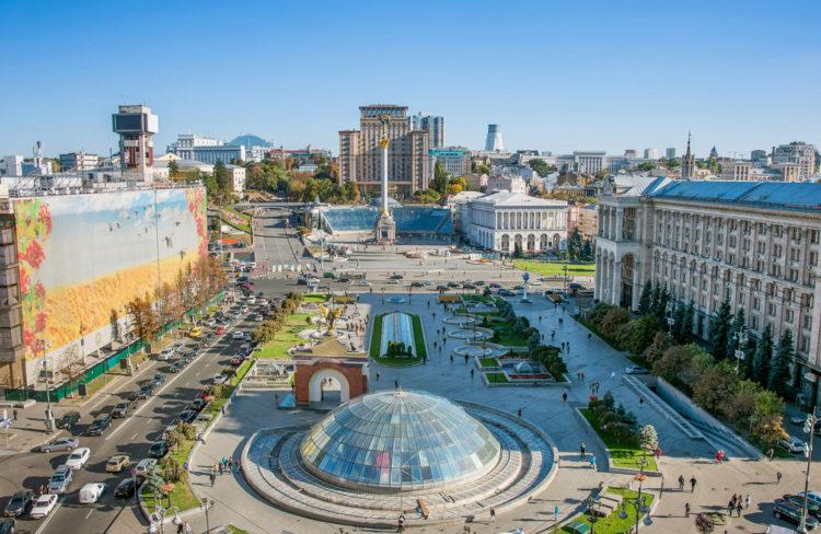 Достопримечательности Украины - Площадь Независимости