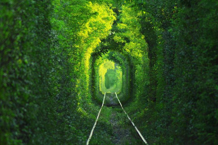Достопримечательности Украины - Тоннель любви