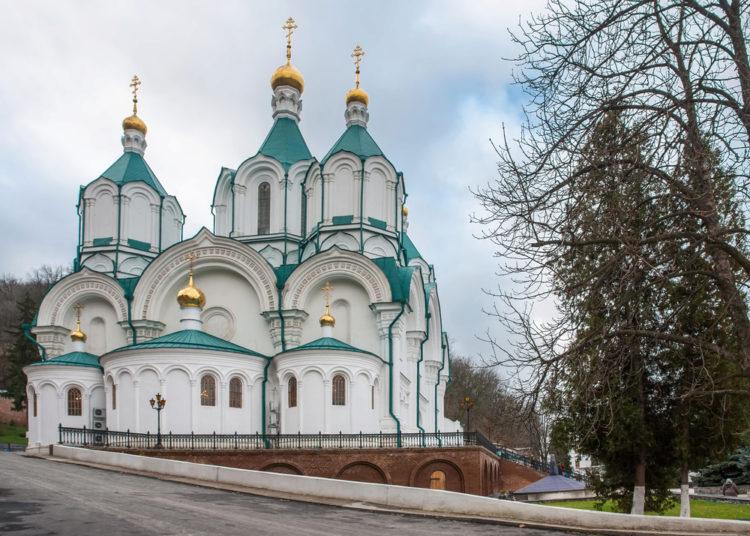 Достопримечательности Украины - Святогорская Успенская лавра