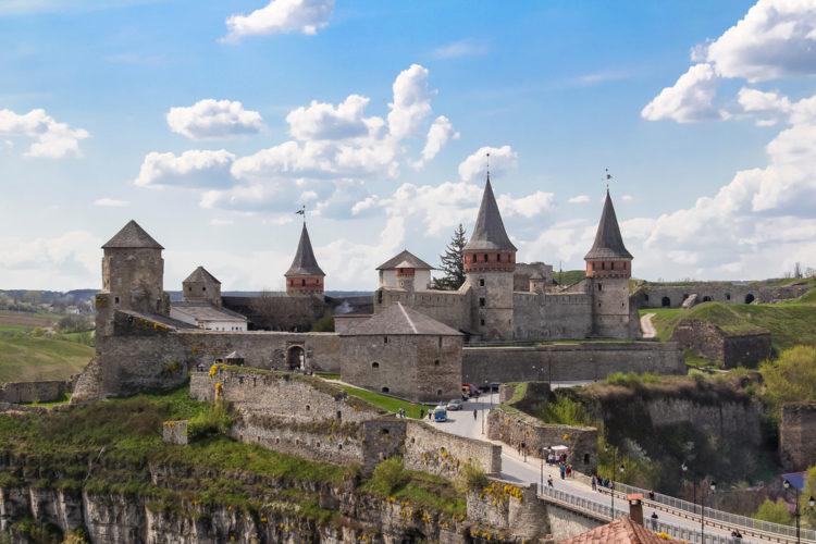 Достопримечательности Украины - Старый замок Каменца-Подольского