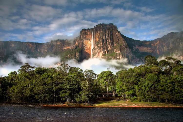 Достопримечательности Венесуэлы - Водопад Анхель