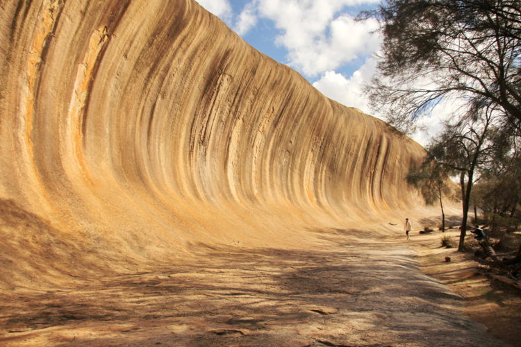 """Что посмотреть в Австралии - Скала """"Каменная волна"""""""