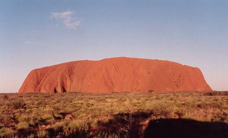 Достопримечательность Австралии - Гора Улуру
