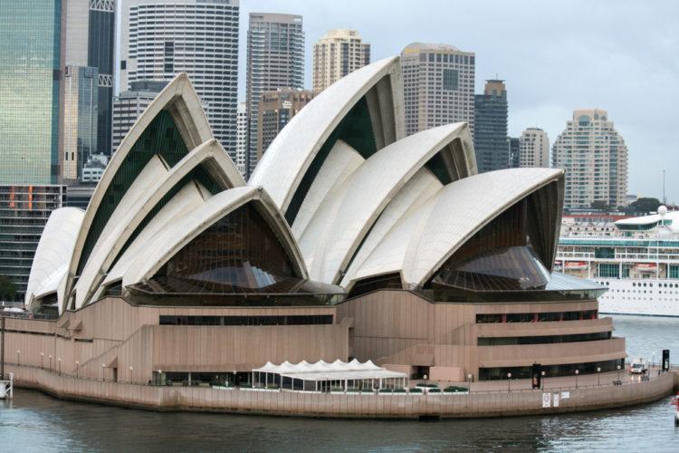 Достопримечательности Австралии - Опера-хаус