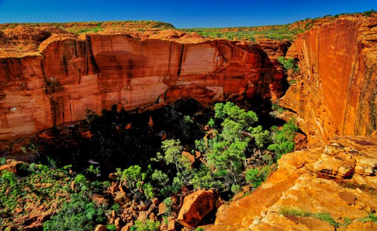 Достопримечательности Австралии - Королевский каньон