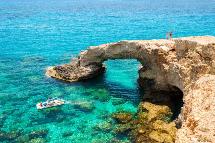 Что посмотреть на Кипре - Голубая лагуна Айя-Напа