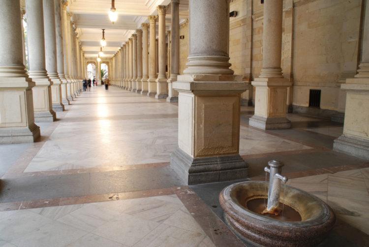 Что посмотреть в Чехии - Мельничная колоннада