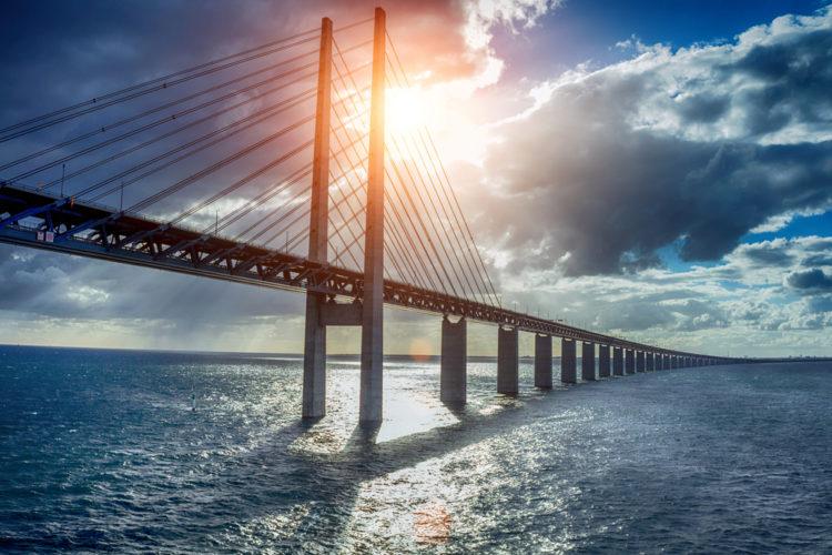 Достопримечательности Дании - Эресуннский мост