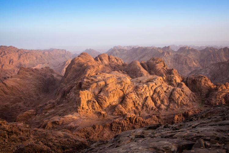 Достопримечательности Египта - Гора Синай