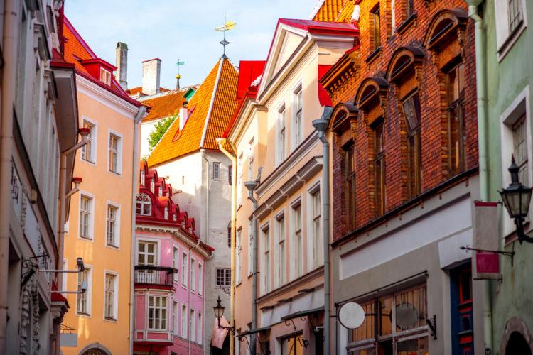 Достопримечательности Эстонии - Старый город Таллина
