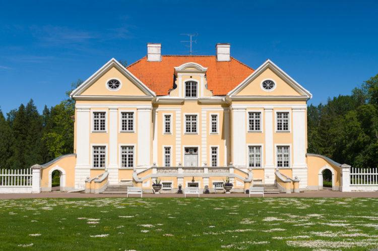 Достопримечательности Эстонии - Музей-усадьба Палмсе