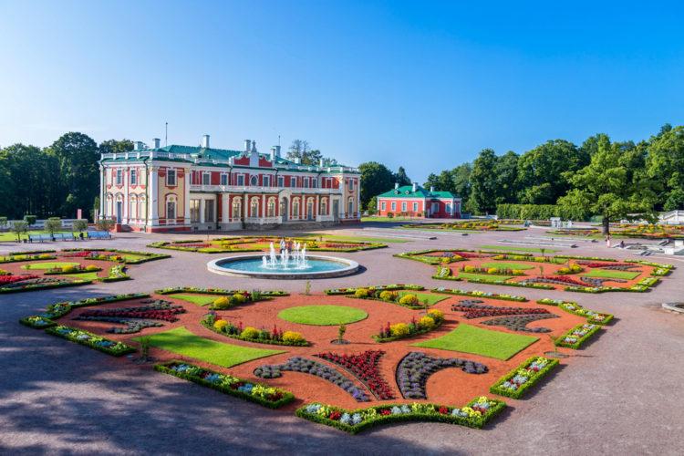 Достопримечательности Эстонии - Дворец Кадриорг