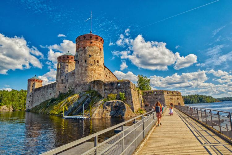 Достопримечательности Финляндии - Крепость Олафсборг