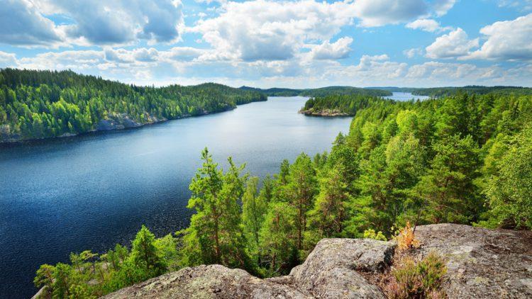 Что посмотреть в Финляндии - Озеро Сайма