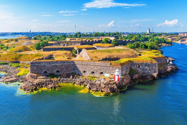 Достопримечательности Финляндии - Крепость Суоменлинна