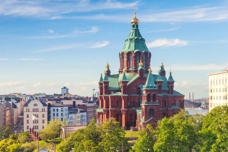 Достопримечательности Финляндии - Успенский собор
