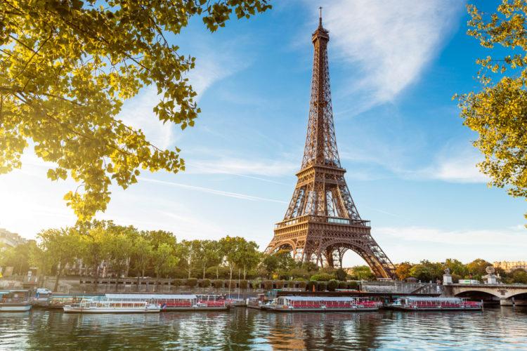 Достопримечательности Франции - Эйфелева башня