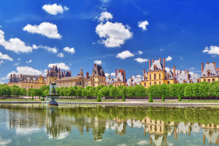 Достопримечательности Франции - Дворец Фонтенбло