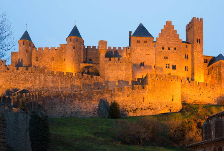 Достопримечательности Франции - Старый город Каркассон