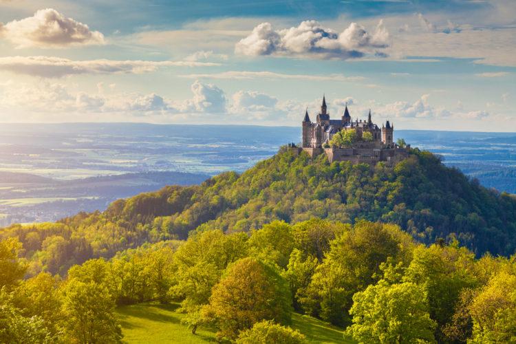 Что посмотреть в Германии - Замок Гогенцоллерн