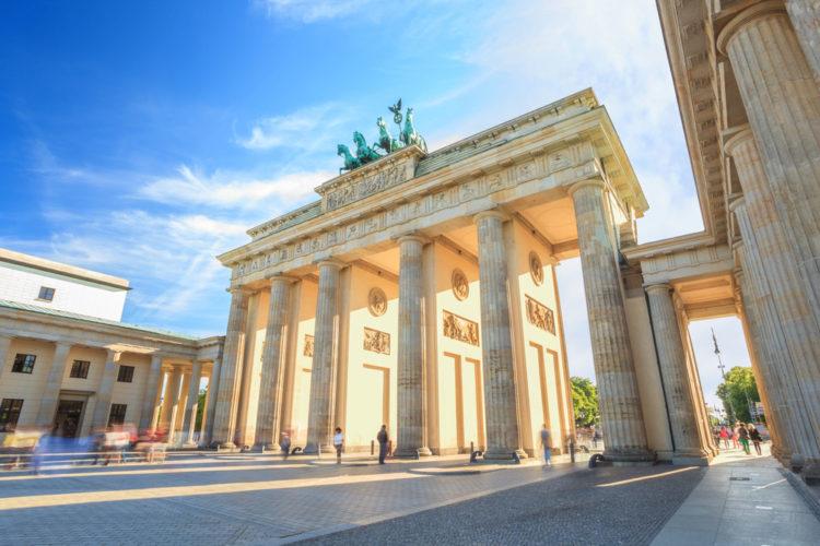 Достопримечательности Германии - Бранденбургские ворота