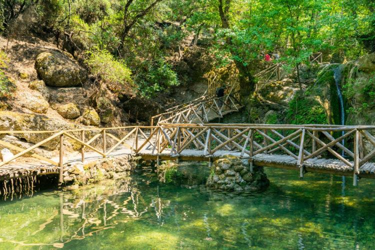Что посмотреть в Греции - Долина бабочек