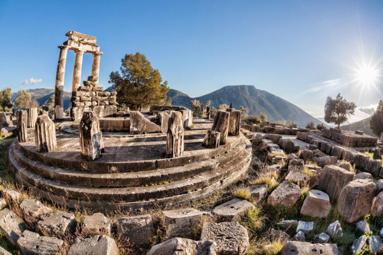 Достопримечательности Греции - Храм Аполлона