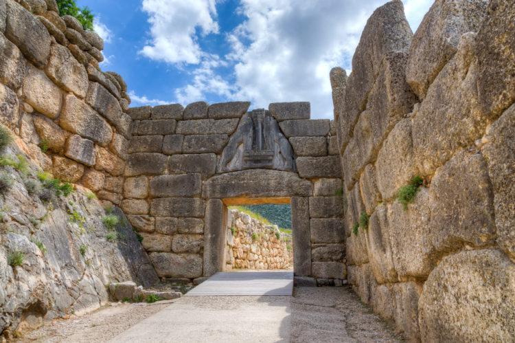 Достопримечательности Греции - Львиные ворота
