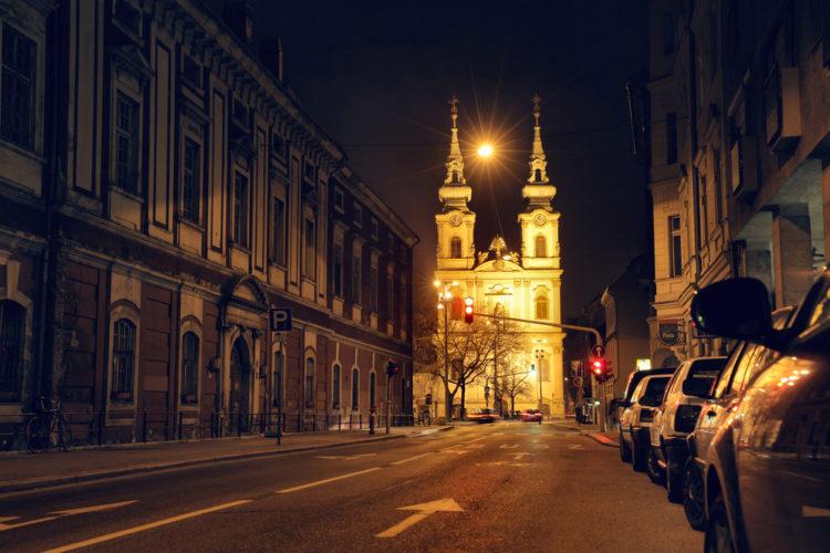 Достопримечательности Венгрии - Церковь Святой Анны