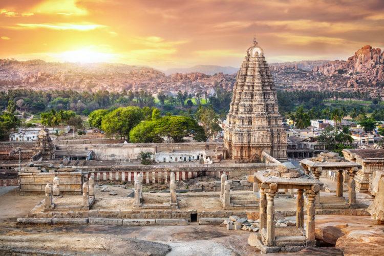 Достопримечательности Индии - Храм Вирупакши в честь Шивы