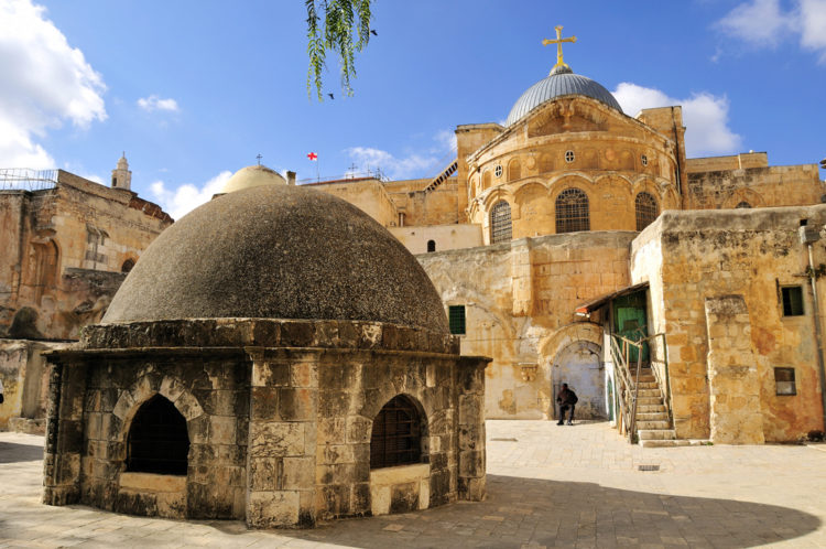 Достопримечательности Израиля - Храм Гроба Господня