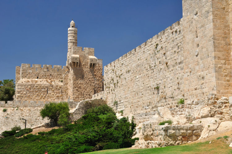 Достопримечательности Израиля - Башня Давида