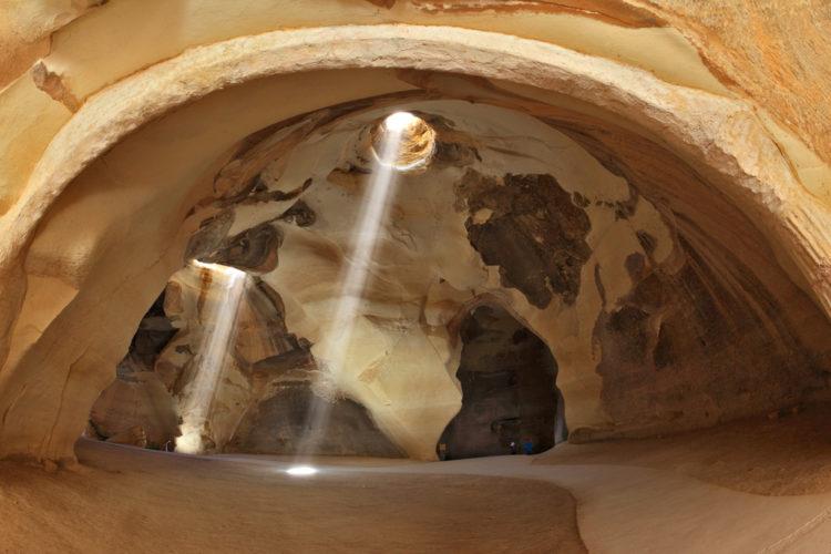 Достопримечательности Израиля - Пещеры Бейт-Гуврин