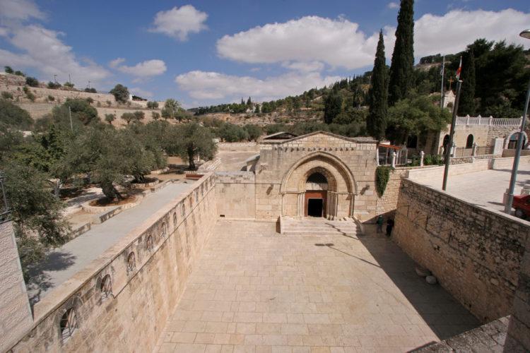 Достопримечательности Израиля - Гробница Богородицы