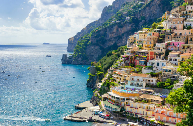 Достопримечательности Италии - Позитано