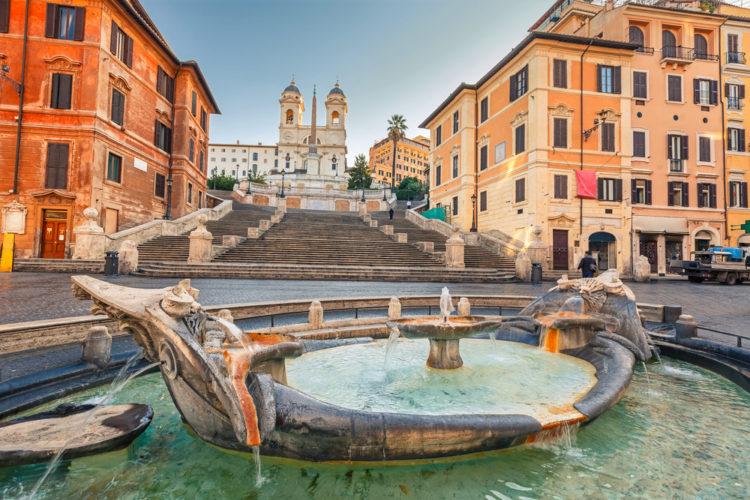 Что посмотреть в Италии - Испанские ступени