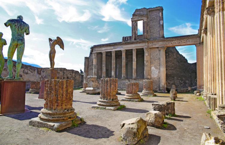 Достопримечательности Италии - Помпеи